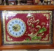 Đồng hồ khung gỗ